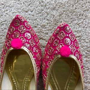 Shoes - New 2018! Fabulous Fuchsia Bling Jutti